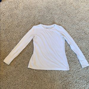 Mossimo White long sleeve casual tee